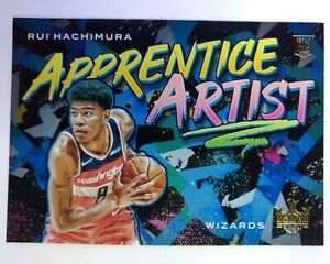 2019-20-Panini-Court-Kings-Apprentice-Artist-Rui-Hachimura-Rookie-RC-13-Insert