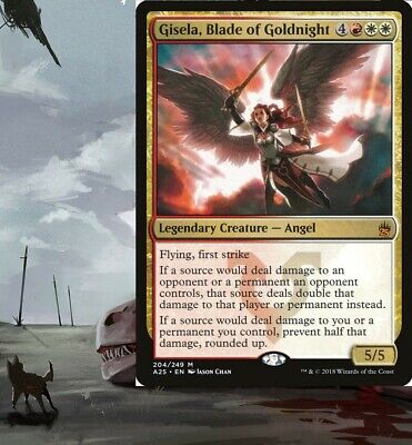 Blade of Goldnight ~ Avacyn Restored Gisela Excellent+ Magic MTG
