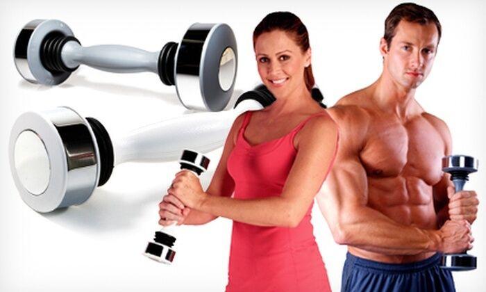 Mancuerna pesa para tonificar fortalecer la musculatura hombres mujeres brazos