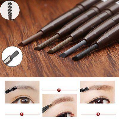 Beauty Makeup Waterproof Eyebrow Pencil Liner Eye Brow Powder Brush Cosmetic Kit