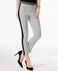 Inc 12 skinny Pantaloni Concepts a di 887650123224 bianco strisce taglia International rzrB5xqn