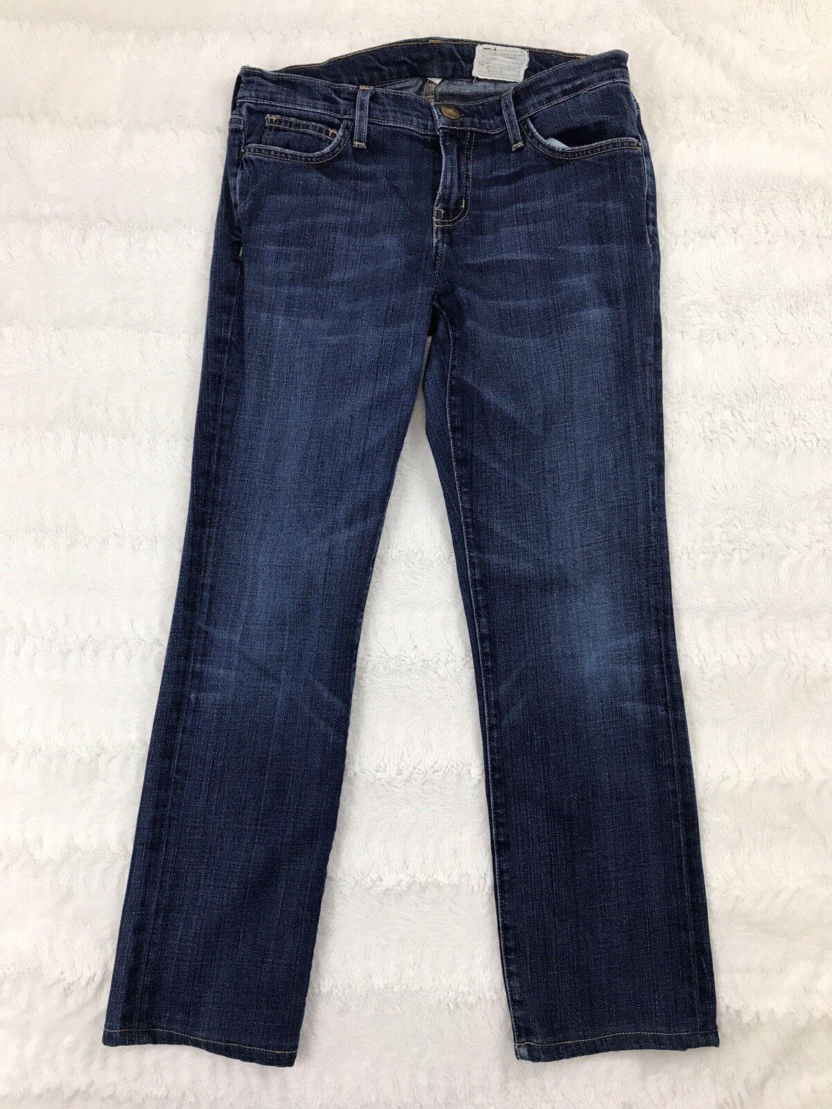 Current Elliott Womens Jeans Size 29 The Straight Leg Rambler Dark Wash