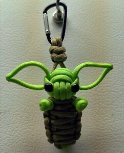 Baby Yoda Paracord Keyring