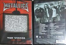 METALLICA - the VIDEOS 1989-2004 Dvd Sigillato Sealed ( Argentina Edition)