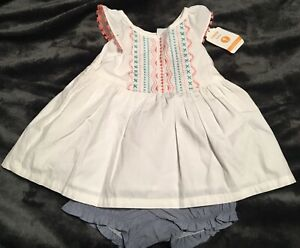 NWT Gymboree JOYFUL HOLIDAY Girls Size 12 18 24 Months One-Piece Romper Outfit