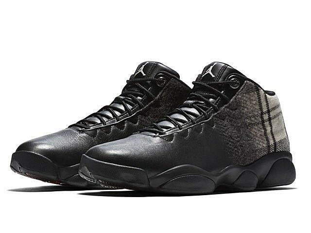 Nike Air Jordan Horizon Low Premium Black Leather Basketball Shoe 9.5 Men 850678 The most popular shoes for men and women
