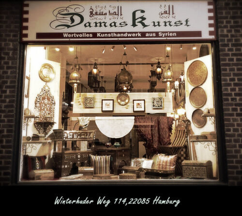 Schmuckkasten Holzschatulle,Box,Kästchen,Mosaik Kunsthandwerk Damaskunst K1-2-44
