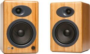 Audioengine-A5-Natural-Bamboo-Premium-Powered-Bookshelf-Speakers-with-Warranty
