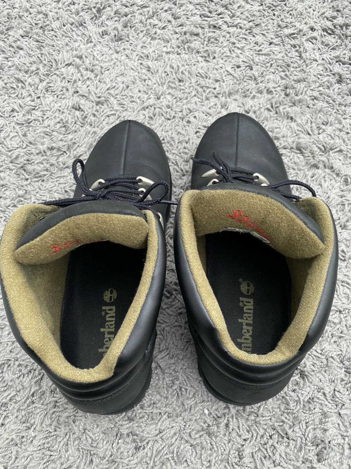 mens timberland boots TBL-73-SRPLS Black Size uk13 small fitting more like 12