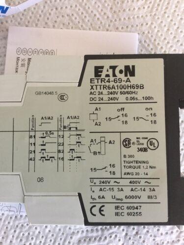 Eaton ETR4-69-A XTTR6A100H69B