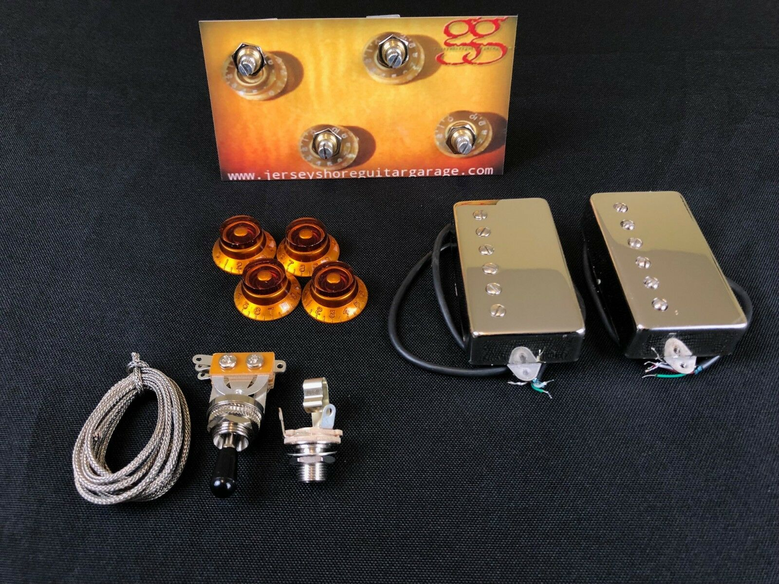 Awesome Jimmy Page Push Pull Wiring Kit For Gibson Epiphone Epiphone Wiring Database Obenzyuccorg