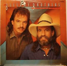 """The Bellamy Brothers """"Crazy From The Heart"""" LP Record 1987 STILL SEALED!"""