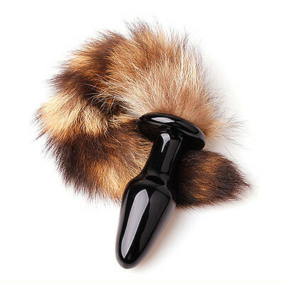 Anal Plug Sex Toys for Women Love Faux Fox Tail Plug Sexy Adult Anal Toy