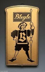 ALTES-Pappschild-BLEYLE-wohl-um-1935