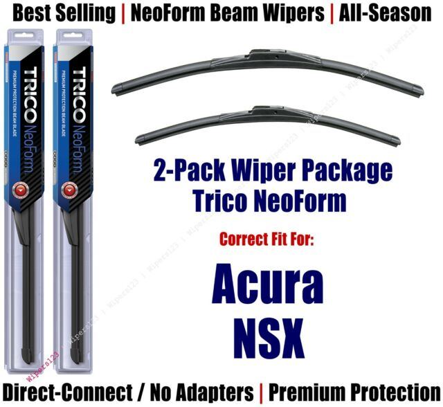 2-Pack Premium NeoForm Wipers Fit 2017-2018 Acura NSX