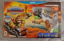 New Skylanders Superchargers Starter Pack Nintendo Wii U Sealed