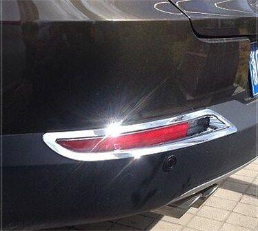 Chrome Rear Fog Light Cover trims For VW Tiguan 2009-2015