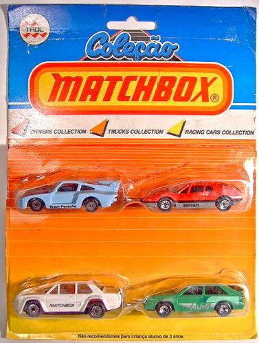 MATCHBOX superfast  drivers collection  Giftset du Brésil, très rare set