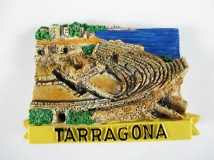 Aimant Tarragone Moulés, Souvenir Espagne Spain, Neuf. *-enir Spanien Spain,neu.*fr-fr Afficher Le Titre D'origine