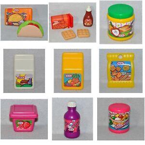 Vintage Little Tikes Pretend Play Food Kitchen Pieces Fun With 0619 Ebay