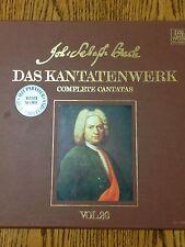Johann Sebastian Bach-Complete Cantatas, Vol. 20 - 2 LP w/Program Notes & Scores