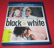 Black or White (Blu-ray, 2015 Only- No Digital code) Former Rental Kevin Kostner