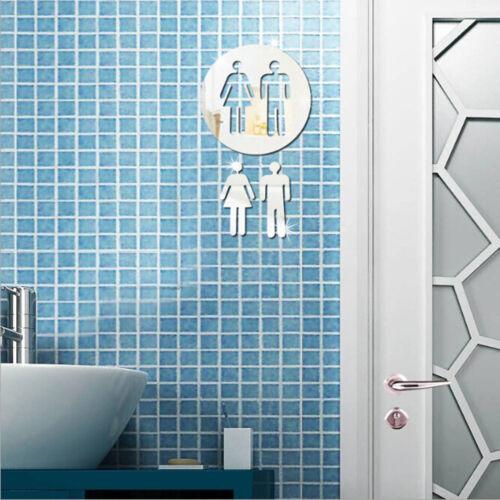 Fashion Public Signs Mirror Sticker Smart Acrylic 3D Mall Mirror Decoration CO