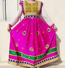 Kuchi Afgano Banjara Tribal Boho Hippie Estilo Nuevo Étnico Vestido ND-194
