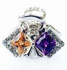 QUALITY Hair Claw Clip using Swarovski Crystal Hairpin Wedding Flower Colorful 2