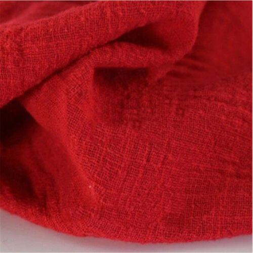 Linen Cotton Fabric Organic Material Pure Natural Flax Cambric Eco DIY Clothes