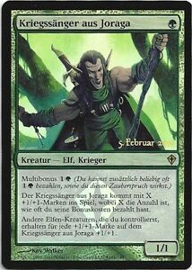 TCG-110-MtG-Magic-the-Gathering-Kriegssaenger-aus-Joraga-Joraga-Warcraller-Promo