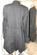 Tripp NYC black Frock Coat - Ditsy Vintage Steampunk Pirate Gothic XXL