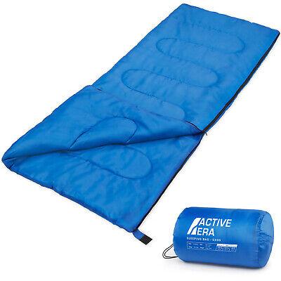 Active Era Saco de Dormir Premium 200, de Forma Rectangular, Extremadamente Lige