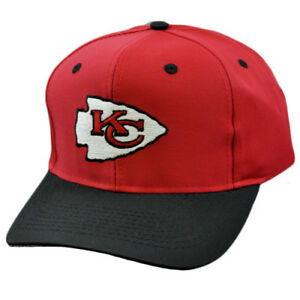 ed459396 Details about NFL Kansas City Chiefs Vintage Deadstock Red Blk Snapback  Logo Athletic Hat Cap