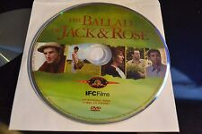 The Ballad of Jack and Rose (DVD, 2005)Disc Only Free Shipping