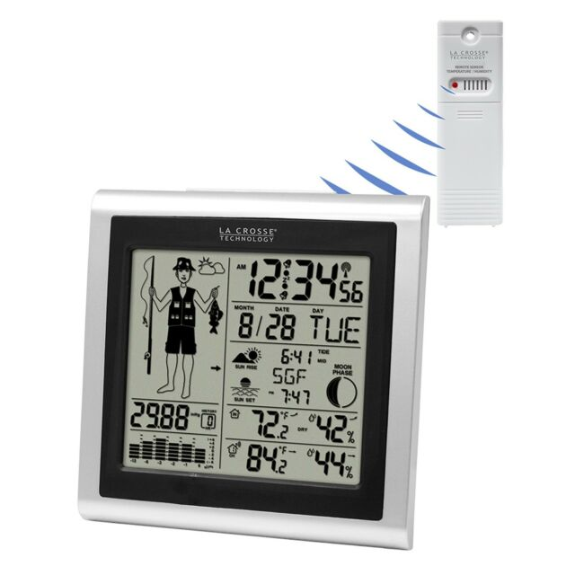 308-1451 La Crosse Technology Fisherman Weather Station with Forecast TX142THV3