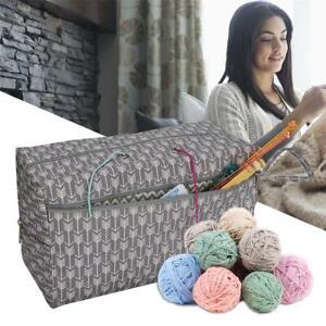 Knitting-Bags-Yarn-Storage-Tote-Carry-Crochet-Hook-Knitting-Needle-Organizer