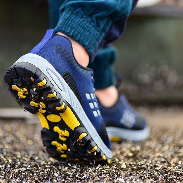 La prevenzione delle safty Uomo acciaio scarpe casual da ginnastica ginnastica ginnastica respirabile stivali da lavoro dfa2a3