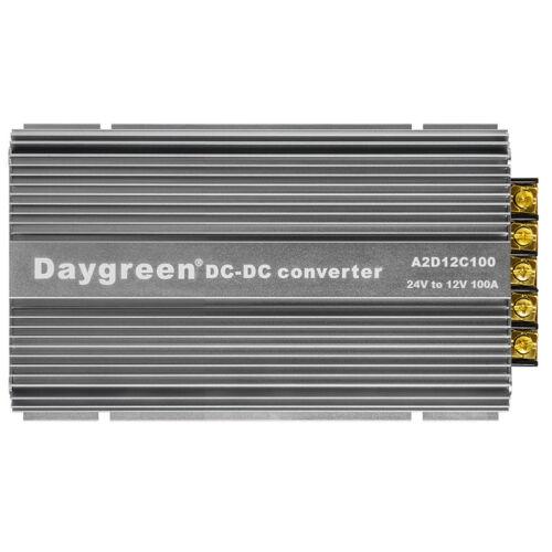 24V to 12V 100A STEP DOWN DC DC CONVERTER VOLTAGE REGULATOR 1200W ACC Switch