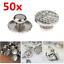 50X-Dental-Orthodontic-Lingual-Button-Set-for-Bondable-Round-Mesh-Base-Monoblock miniatura 2