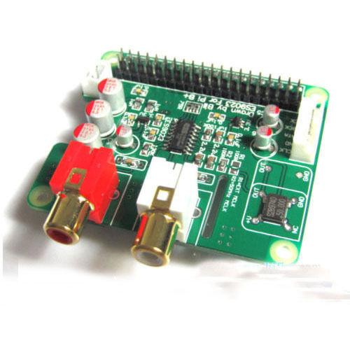 I2S HiFi DAC ES9023 Expansion Board Decode Board Encoder for Raspberry pi B+