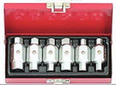 KS Tools Ölablass ÖL Schrauben Schlüssel Satz 6-tlg. Ablass Schrauben Ölstopfen