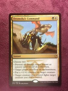 Dromoka-039-s-Command-VO-MTG-Magic-Mint-NM