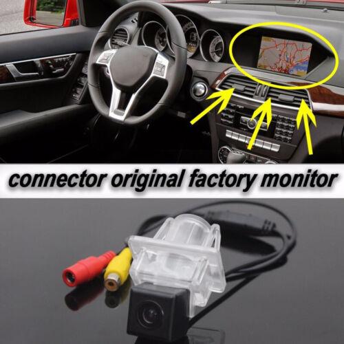 Rear View Camera Original Screen Parts For Mercedes-Benz C E W204 W212 W207 C207