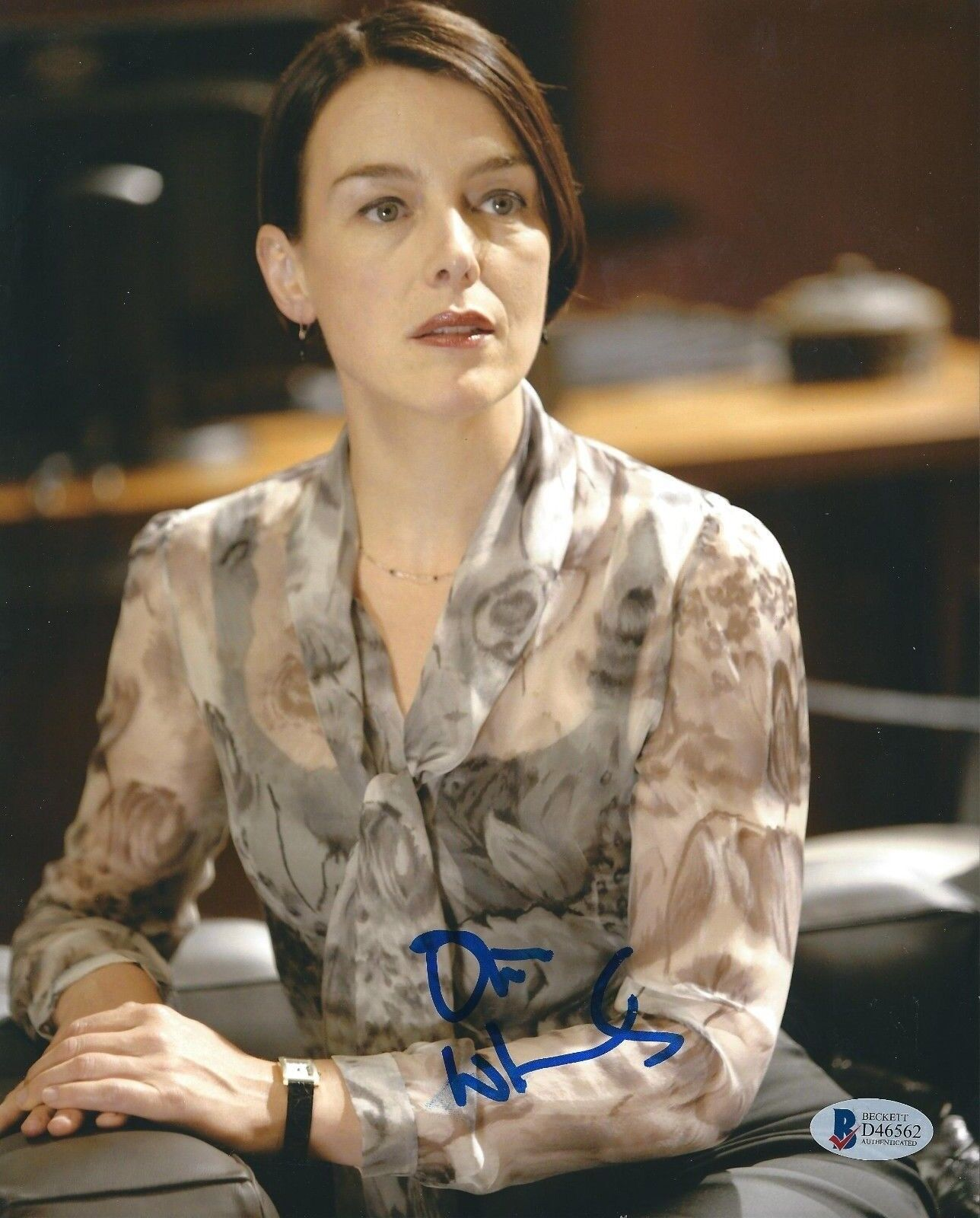 Olivia Williams Signed 8x10 Photo *The Ghost Writer *The Sixth Sense BAS D46562
