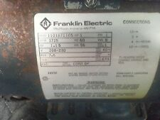 1 Hp Electro Freeze Ice Cream Machine Beater Motor Used Parts 151060