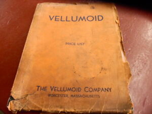 1939-1940 Vellumoid Sheet Packing and Gaskets Catalog No. 16
