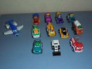 Mini Tonka Trucks 1 Airplane Lot Of 12 Ebay