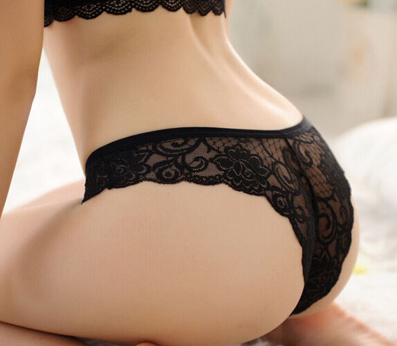 Womens Ladies Hot Sexy Lace Underwear Thongs G-string V-string Panties Lingerie