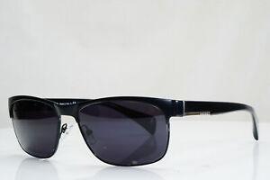 Authentic-PRADA-Mens-Vintage-Sunglasses-Black-Rectangle-VPR-16P-FAD-101-28127